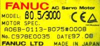 Fanuc A06B-0113-B075-0008 image