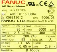 Fanuc A06B-0115-B804 image