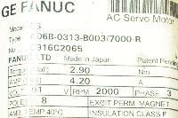 Fanuc A06B-0313-B003-7000 image