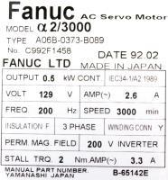 Fanuc A06B-0373-B089 image