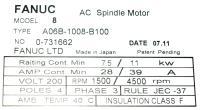 Fanuc A06B-1008-B100 image