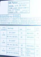 Fanuc A06B-1492-B135-0121 image
