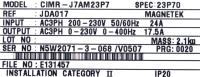 Yaskawa CIMR-J7AM23P7 image