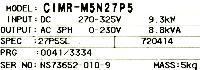 Yaskawa CIMR-M5N27P55 image