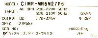 Yaskawa CIMR-MR5N27P55 image