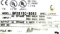 Magnetek GPD515C-B052 image