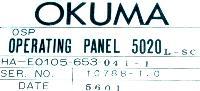 Okuma HA-E0105-653-041-1 image