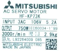 Mitsubishi HF-KP73K image
