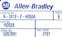 Allen-Bradley N-3412-2-H00AA image