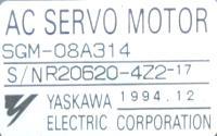Yaskawa SGM-08A314 image