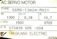 Yaskawa SGMG-13A2A-MU21 image