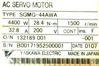 Yaskawa SGMG-44AWA image