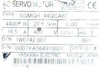 Yaskawa SGMGH-44QCA6C image