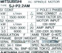 Mitsubishi SJ-P2.2AM image