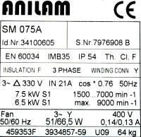 Anilam SM075A image