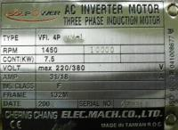 CHERNG CHANG MACHINERY ELECTRIC CO., LTD VFI.4PVM-1 image