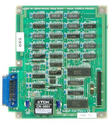 New Refurbished Exchange Repair  Okuma CNC Boards 1911-1521 Precision Zone