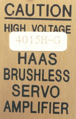 New Refurbished Exchange Repair  HAAS Drives-AC Servo 4015H-G Precision Zone