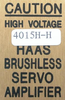 New Refurbished Exchange Repair  HAAS Drives-AC Servo 4015H-H Precision Zone