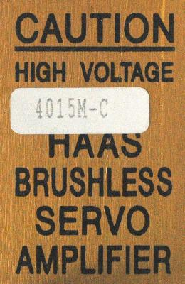 New Refurbished Exchange Repair  HAAS Drives-AC Servo 4015M-C Precision Zone