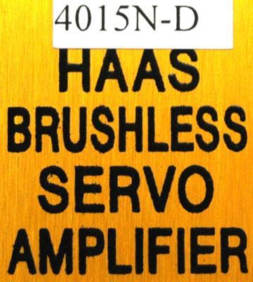 New Refurbished Exchange Repair  HAAS Drives-AC Servo 4015N-D Precision Zone