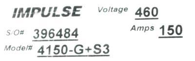New Refurbished Exchange Repair  Magnetek Inverter-Crane 4150-G+S3 Precision Zone