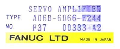 New Refurbished Exchange Repair  Fanuc Drives-AC Servo A06B-6066-H244 Precision Zone