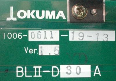 New Refurbished Exchange Repair  Okuma Drives-AC Servo BLII-D30A Precision Zone