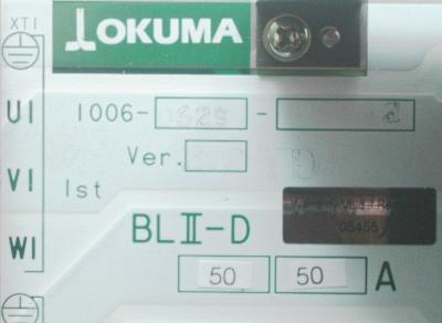New Refurbished Exchange Repair  Okuma Drives-AC Servo BLII-D50-50A Precision Zone