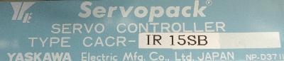 New Refurbished Exchange Repair  Yaskawa Drives-AC Servo CACR-IR15SB Precision Zone