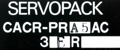New Refurbished Exchange Repair  Yaskawa Drives-AC Servo CACR-PRA5AC3ER Precision Zone
