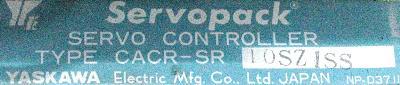 New Refurbished Exchange Repair  Yaskawa Drives-AC Servo CACR-SR10SZ1SS Precision Zone