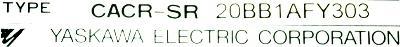 New Refurbished Exchange Repair  Yaskawa Drives-AC Servo CACR-SR20BB1AF-Y303 Precision Zone