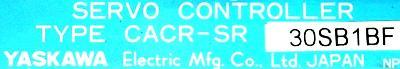New Refurbished Exchange Repair  Yaskawa Drives-AC Servo CACR-SR30SB1BF Precision Zone
