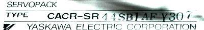 New Refurbished Exchange Repair  Yaskawa Drives-AC Servo CACR-SR44SB1AF-Y307 Precision Zone