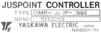 New Refurbished Exchange Repair  Yaskawa Inverter-Turret CIMR-37JP-1004 Precision Zone
