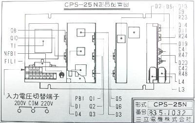 New Refurbished Exchange Repair  Yaskawa Part of machine CPS-25N Precision Zone