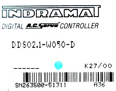 New Refurbished Exchange Repair  INDRAMAT Drives-AC Servo DDS02.1-W050-D Precision Zone