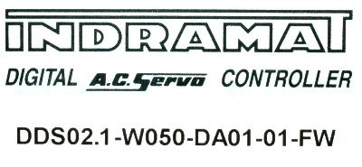 New Refurbished Exchange Repair  INDRAMAT Drives-AC Servo DDS02.1-W050-DA01-01-FW Precision Zone
