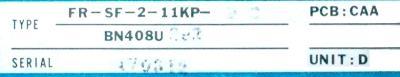 New Refurbished Exchange Repair  Mitsubishi Drives-AC Spindle FR-SF-2-11KP-BC Precision Zone