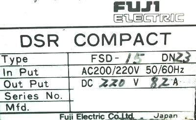 New Refurbished Exchange Repair  Fuji Drives-DC Spindle FSD-15DN23 Precision Zone
