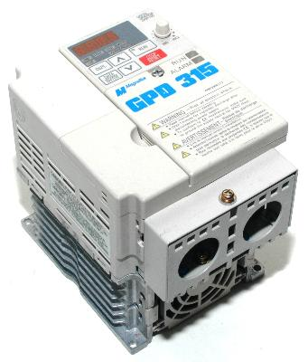 New Refurbished Exchange Repair  Magnetek Inverter-General Purpose GPD315-MVA008 Precision Zone