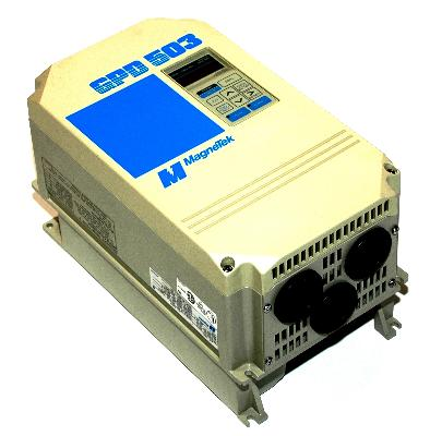 New Refurbished Exchange Repair  Magnetek Inverter-General Purpose GPD503-DS308 Precision Zone