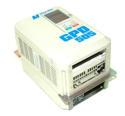 New Refurbished Exchange Repair  Magnetek Inverter-General Purpose GPD505V-B014 Precision Zone