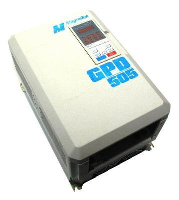 New Refurbished Exchange Repair  Magnetek Inverter-General Purpose GPD505V-B027 Precision Zone