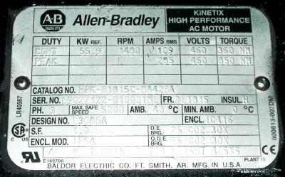 New Refurbished Exchange Repair  Allen-Bradley Motors-AC Servo HPK-B1815C-MA42BA Precision Zone