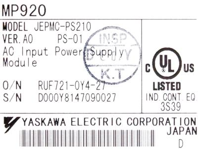 New Refurbished Exchange Repair  Yaskawa Part of machine JEPMC-PS210 Precision Zone