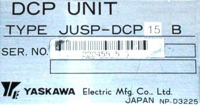 New Refurbished Exchange Repair  Yaskawa Part of machine JUSP-DCP15B Precision Zone