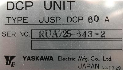 New Refurbished Exchange Repair  Yaskawa Part of machine JUSP-DCP60A Precision Zone