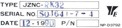 New Refurbished Exchange Repair  Yaskawa CNC Boards JZNC-RK32 Precision Zone